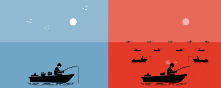 Estrategia del océano azul: ¿qué es y cómo usarla? Parte 1
